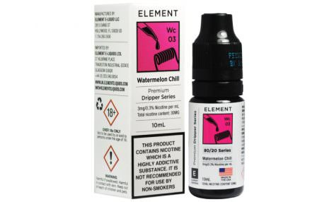 """Element E-liquid"" - ""Watermelon Chill"" (TPA)"