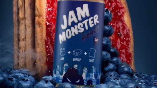 """Jam Monster"" - ""Blueberry"" (CAP)"