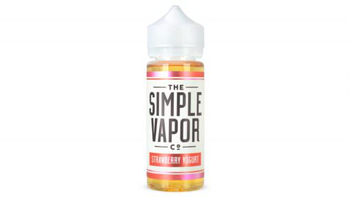 """The Simple Vapor Co."" - ""Strawberry Yogurt"" (CAP+TPA)"