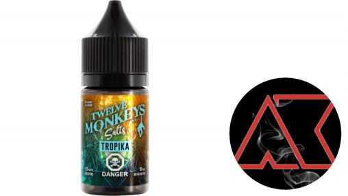 """ArturKam Vape"" - ""Twelve Monkeys Vapor Co."" - ""Tropika"" (TPA) + Видео"