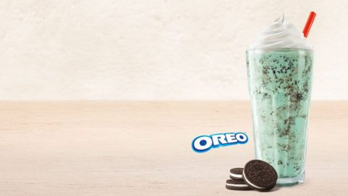 Burger King Oreo Mint Shake (FA+TPA+INW+CAP)