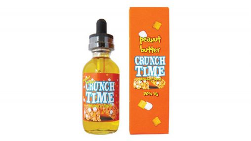 """California Vaping Co."" - ""Crunch Time"" - ""Peanut Butter"" (TPA+CAP)"