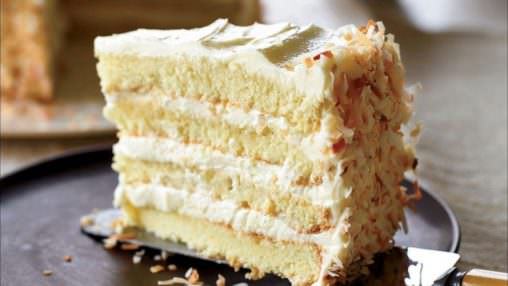 """Coconut Butter Cream Cake"" (CAP+FA+TPA)"