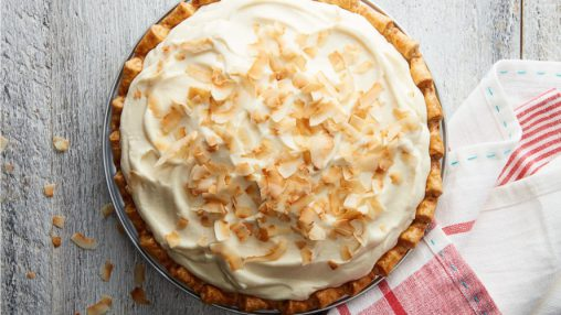 """Coconut Cream Pie (Wafer Crust)"" (WF)"