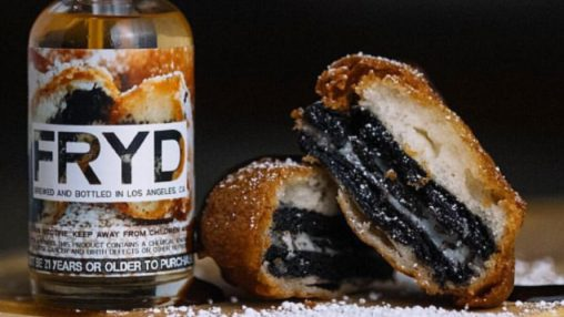 """Daddy's Vapor"" - ""FRYD E-Liquid"" - ""Fried Cookies And Cream"" (TPA+CAP+FA+FW+INW)"
