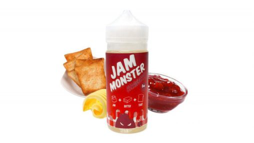 """Jam Monster"" - ""Strawberry"" (TPA+CAP+FA+FW)"