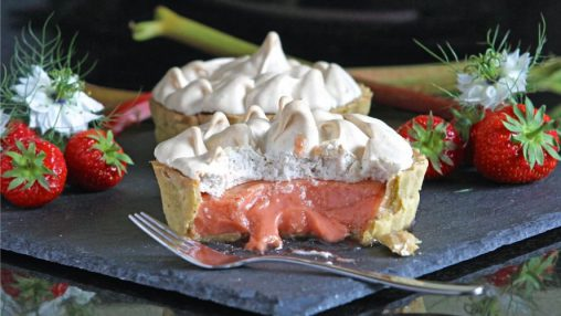 """Strawberry Citrus Meringue"" (WF)"