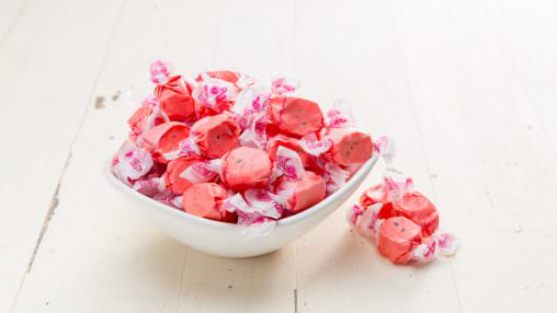 """Strawberry Watermelon Taffy"" (RF+INW)"